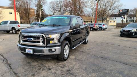 2015 Ford F-150 for sale at Bibian Brothers Auto Sales & Service in Joliet IL