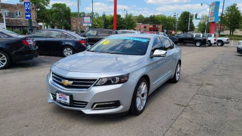 2016 Chevrolet Impala for sale at Bibian Brothers Auto Sales & Service in Joliet IL