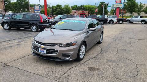 2017 Chevrolet Malibu for sale at Bibian Brothers Auto Sales & Service in Joliet IL