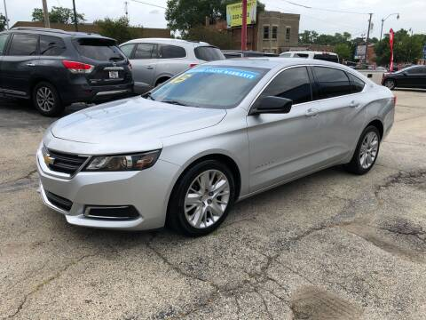 2015 Chevrolet Impala for sale at Bibian Brothers Auto Sales & Service in Joliet IL