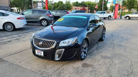 2013 Buick Regal for sale at Bibian Brothers Auto Sales & Service in Joliet IL