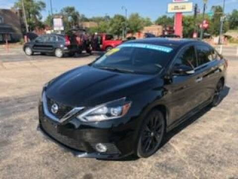 2017 Nissan Sentra for sale at Bibian Brothers Auto Sales & Service in Joliet IL