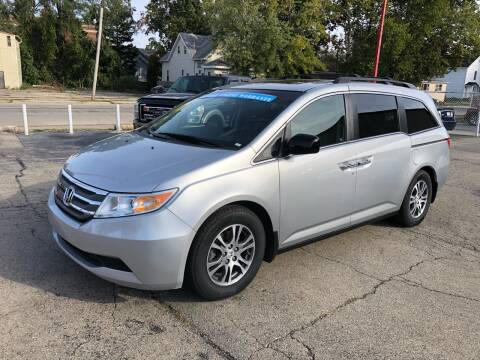 2011 Honda Odyssey for sale at Bibian Brothers Auto Sales & Service in Joliet IL