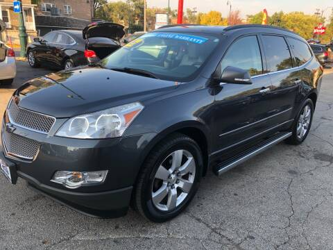 2012 Chevrolet Traverse for sale at Bibian Brothers Auto Sales & Service in Joliet IL