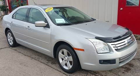 2009 Ford Fusion for sale at Bibian Brothers Auto Sales & Service in Joliet IL