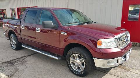 2005 Ford F-150 for sale at Bibian Brothers Auto Sales & Service in Joliet IL