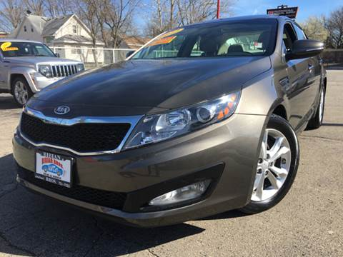 2012 Kia Optima for sale at Bibian Brothers Auto Sales & Service in Joliet IL