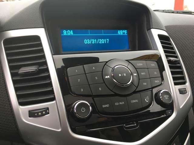 2013 Chevrolet Cruze 1LT Manual 4dr Sedan w/1SC - Joliet IL