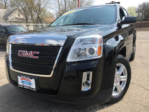 2014 GMC Terrain for sale at Bibian Brothers Auto Sales & Service in Joliet IL