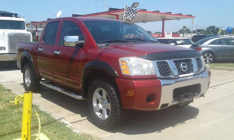 2004 Nissan Titan for sale at Calidos Auto Sales in Tulsa OK