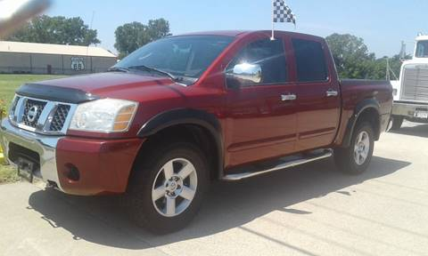 2004 Nissan Titan for sale at Calidos Auto Sales in Tulsa OK