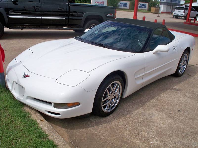 2001 Chevrolet Corvette for sale at Calidos Auto Sales in Tulsa OK