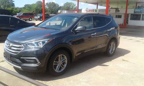 2017 Hyundai Santa Fe Sport for sale at Calidos Auto Sales in Tulsa OK