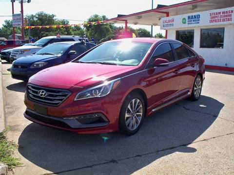 2015 Hyundai Sonata for sale at Calidos Auto Sales in Tulsa OK