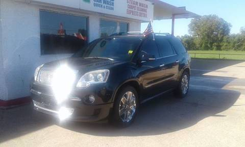 2012 GMC Acadia for sale at Calidos Auto Sales in Tulsa OK