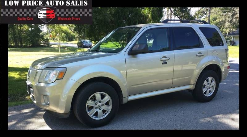 2011 Mercury Mariner for sale at Low Price Autos in Beaumont TX