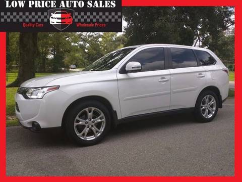 2014 Mitsubishi Outlander for sale at Low Price Autos in Beaumont TX