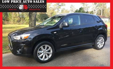 2015 Mitsubishi Outlander Sport for sale at Low Price Autos in Beaumont TX