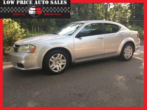 2011 Dodge Avenger for sale at Low Price Autos in Beaumont TX
