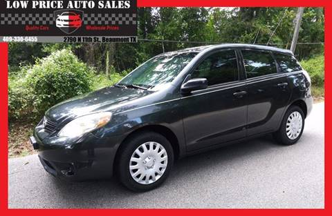 2005 Toyota Matrix for sale at Low Price Autos in Beaumont TX