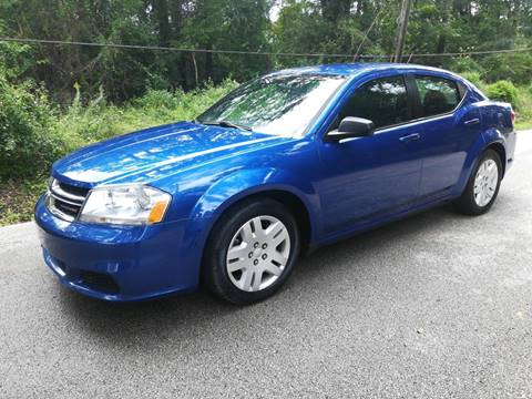 2014 Dodge Avenger for sale at Low Price Autos in Beaumont TX