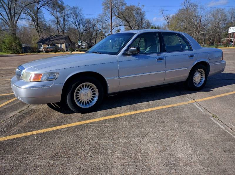 2001 Mercury Grand Marquis for sale at Low Price Autos in Beaumont TX