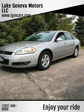 2007 Chevrolet Impala for sale in Lake Geneva, WI