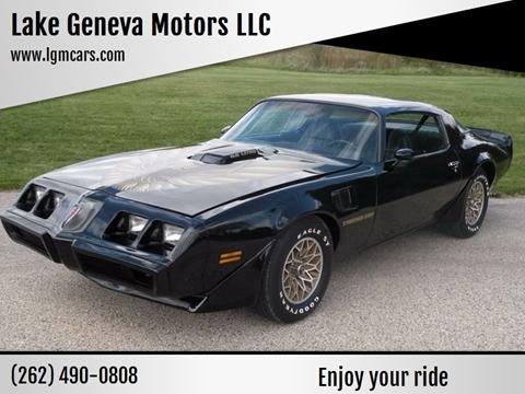 1979 Pontiac Trans Am for sale in Lake Geneva, WI