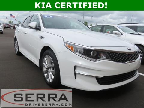 2016 Kia Optima for sale in Washington, MI