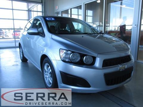2012 Chevrolet Sonic for sale in Washington, MI