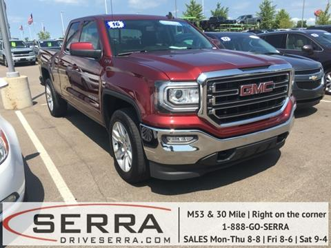2016 GMC Sierra 1500 for sale in Washington, MI
