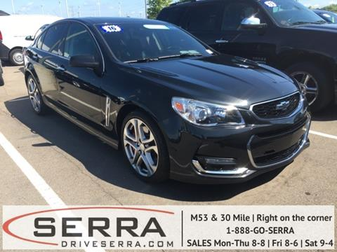 2016 Chevrolet SS for sale in Washington, MI