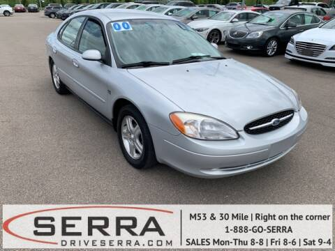 2000 Ford Taurus SEL for sale at Serra Pre-Owned in Washington MI