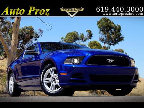 2014 Ford Mustang for sale in El Cajon, CA