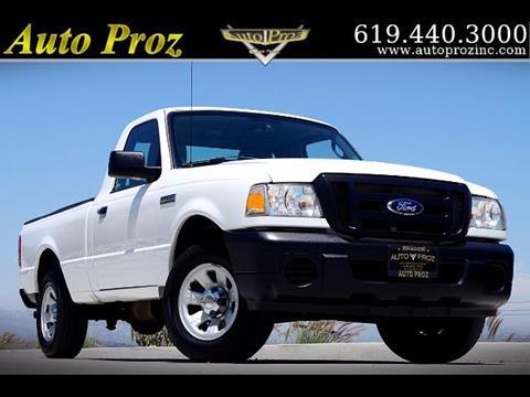 2011 Ford Ranger for sale in El Cajon, CA