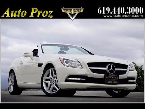 2013 Mercedes-Benz SLK for sale in El Cajon, CA