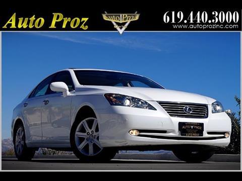 2008 Lexus ES 350 for sale in El Cajon, CA