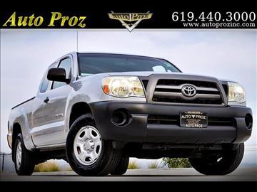 2010 Toyota Tacoma for sale in El Cajon, CA