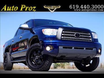 2008 Toyota Tundra for sale in El Cajon, CA