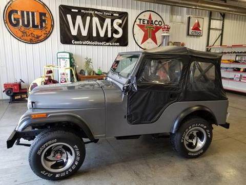 1979 Jeep Wrangler for sale in Upper Sandusky, OH