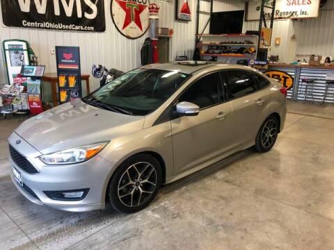 2015 Ford Focus SE for sale at Wyandot Motor Sales in Upper Sandusky OH