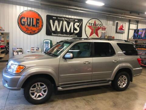 2004 Toyota Sequoia Limited for sale at Wyandot Motor Sales in Upper Sandusky OH