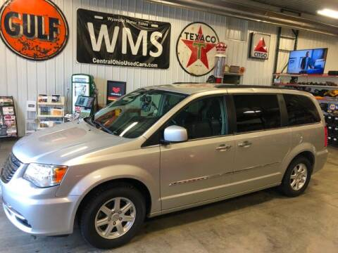 2012 Chrysler Town and Country Touring for sale at Wyandot Motor Sales in Upper Sandusky OH