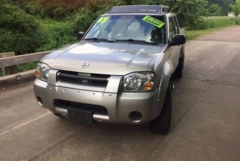 2003 Nissan Frontier for sale at McAllister's Auto Sales LLC in Van Buren AR