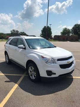 2012 Chevrolet Equinox for sale at McAllister's Auto Sales LLC in Van Buren AR