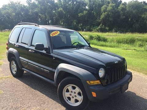 2007 Jeep Liberty for sale at McAllister's Auto Sales LLC in Van Buren AR
