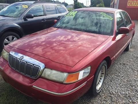 2001 Mercury Grand Marquis for sale at McAllister's Auto Sales LLC in Van Buren AR