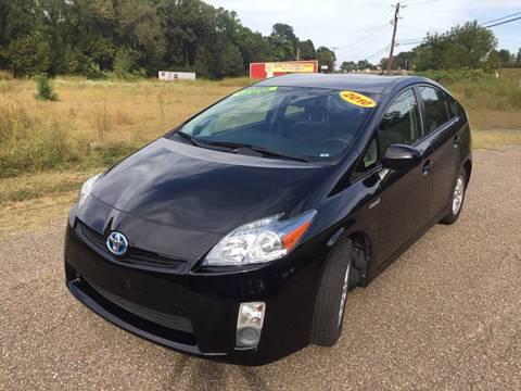 2010 Toyota Prius for sale at McAllister's Auto Sales LLC in Van Buren AR