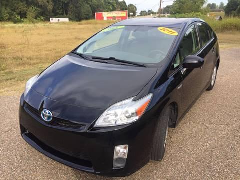 2011 Toyota Prius for sale at McAllister's Auto Sales LLC in Van Buren AR