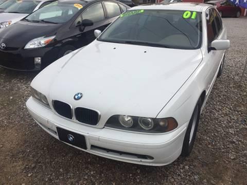 2001 BMW 5 Series for sale at McAllister's Auto Sales LLC in Van Buren AR